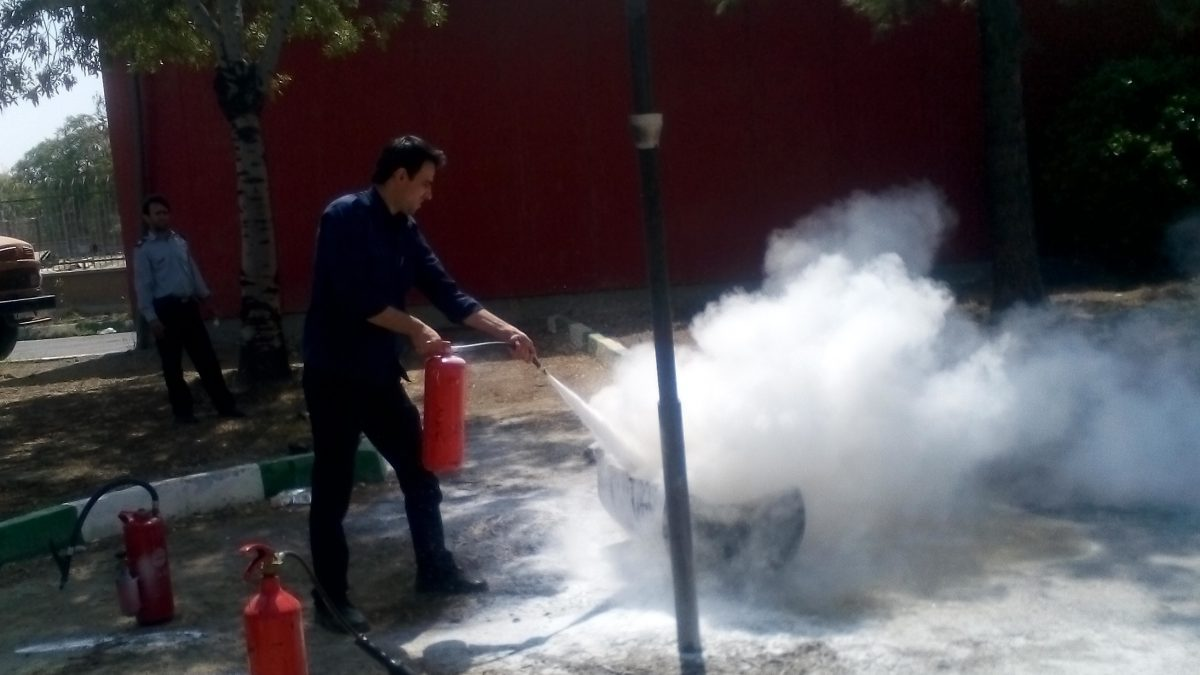 کلاس اطفاء حریق کیان صنعت شهباز
