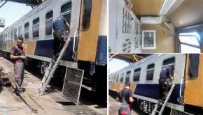 تعمیر مولد برق قطار